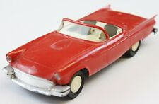 Classic 1957 Ford Red Thunderbird Convertible