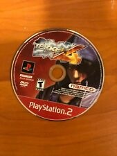 Tekken 4 (Sony PlayStation 2, 2002) Disc Only