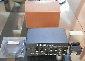EQPLUS by W2IHY Audio Equalizer In Box + EQplus Cable  Ship Worldwide