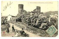 CPA 42 loire Ruines du Château de Rochetaillée près de St-Etienne