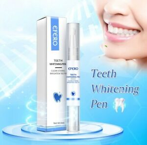 EFERO Teeth Whitening Pen Brush Teeth Oral Hygiene Essence Removes Plaque Stains