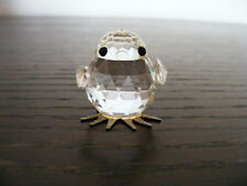 Swarovski   Miniature   Chic   With   Block   Logo  (Retired)  Height  About  1""