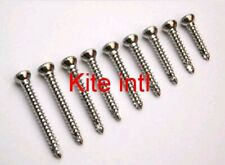 100pcs Orthopedic Cortical /Cortex Screws 3.5mm Self Tapping Hex Head Stainless