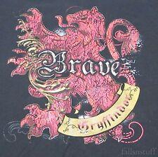 Gryffindor Brave Harry Potter Universal Studios T-Shirt, Men's Size 3XL XXXL