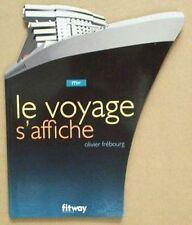 BOOK/LIVRE/BOEK/BUCH : BOAT TRAVEL POSTER/AFFICHE DE VOYAGE BATEAU pub bateaux