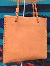 Ceoni Piero Women's Brown Genuine Leather Handbag Tote Bag Made in Italy