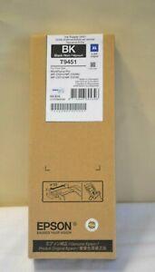 T9451 XL Black Epson Genuine Original Workforce Pro WF-C5210 C5290 C5710 C5790
