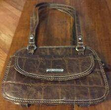 Women's brown  multi pocket purse shoulder bag by Koltov NWOT
