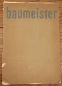 "Willi Baumeister 9 print folio 13.5x19.5"" modernist art prints"