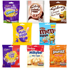 Easter Eggs Chocolate Box Mix Chocolates Bags Ideal Gift Set Kids Adult