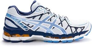 New ASICS Gel Kayano 20 White Galaxy Midnight Mens Running Shoes SZ 14 (2E) Wide
