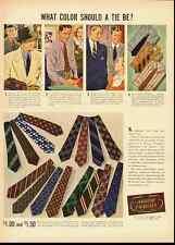 ARROW CRAVATS-ARROW ties Vintage Ad-Life 1937 (100911)