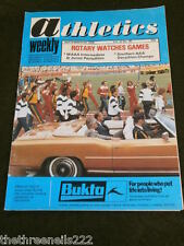 ATHLETICS WEEKLY - ROTARY WATCHES GAMES - SEPT 9 1978