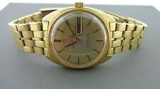Omega Constellation 18k Day Date 70's with gold Stretch Bracelet
