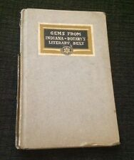 1916 Gems From Indiana Rotary's Literary Belt Hardcover Poetry Prose