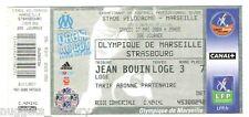 Billet  / Place  OM Olympique de Marseille - OM vs Strasbourg  ( 052 )