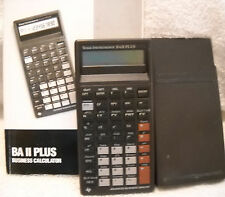 Texas Instruments Ba Ii Plus Business Calculator With Guidebook