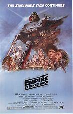 Star Wars The Empire Strikes Back Movie Poster (24x36) - Mark Hamill, New