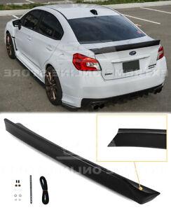 For 15-21 Subaru WRX STi Rear Trunk Lid Wing Spoiler RB Duckbill Style New