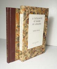 A Catalogue of Books on Angling 1977 Ellis #120/250 Fishing Bibliography HC Box