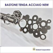 BASTONE TENDA  MODERNO ACCIAIO BASTONI PER TENDE ZINEFFA RILOGA BINARIO