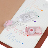 Cute Cat Claw Correction Correcting Tape Stationery Corrector School Office NT