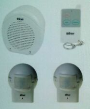BARKING DOG Alarm HomeSafe Security Watch System 1 REMOTE + 2 OUTDOOR SENSORS