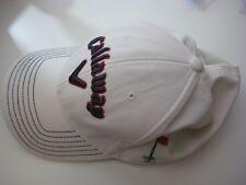 CALLAWAY GOLF mens Baseball hat cap Adult flex fit Beige Navy Red Visor Sports