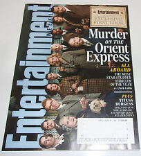 Murder on the Orient Express Entertainment Weekly May 2017 Ridley Scott Tituss