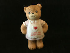 Lucy & Me Bear I Love You Beary Much Valentine Bear Lucy Rigg Enesco 1983