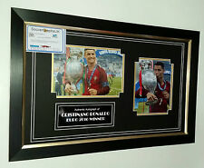 ** NEW Cristiano Ronaldo of Portugal Signed Photo Picture Autograph Display **