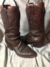 MENS MONTANA 8 D BROWN Leather COWBOY BOOTS MEXICO MADE Fair COND