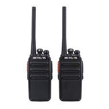 2PCS Retevis RT24 Funkgerät Walkie Talkie 16 Kanäle UHF PMR446 1100mAh VOX