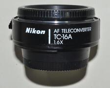 Nikon TC-16A, modifiziert als AF 70-210/4 Nikkor, vom Händler mit Gewährleistung