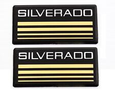 Chevrolet Silverado Side Bar Pillar Cab Post Decal Badge Name Plate 88-98 Pair