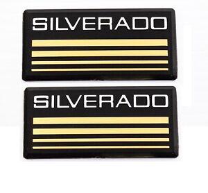Chevrolet Silverado OEM Quality Emblem 88 89 90 91 92 93 94 95 96 97 98 Pair