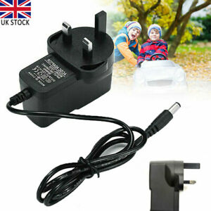 UK Plug 6V 1A Battery Charger Universal For Kids Toy Car Jeeps Electric Ride On