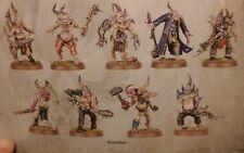 Warhammer 40K Dark Imperium 10X muerte Guardia poxwalkers viruela Walkers