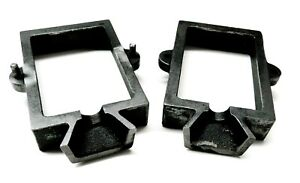 Sand Casting Mold Frame Cast Iron 2-Part Flask for Jewelry Metal Casting Tool