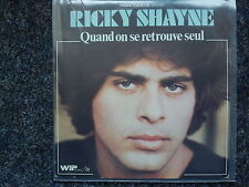 Ricky Shayne - Quand on se retrouve seul 7'' Single SUNG IN FRENCH