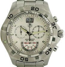 Tag Heuer Aquaracer 300m Ref. CAF101B Stahl/Stahlband Herren Armbanduhr mit Box