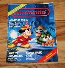 1993 Vintage Club Nintendo Magazine F-Zero Mega Man Super Mario Kart Zelda Kirby