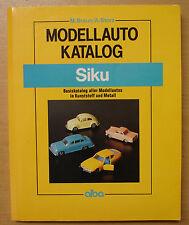 Modellautokatalog SIKU Modellautos Modelle Autos Katalog Preisliste Buch Book