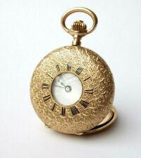 Taschenuhr 585 Gold Pocket Watch 3 Deckel No 71760 jy078