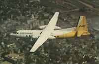 Northeast Arilines Fairchild FH 227 Airplane - Airlines Museum Postcard
