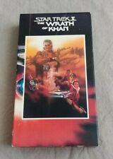 Star Trek II: The Wrath of Khan (VHS)