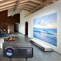 3000Lumens 1280x800 New Home Theater LED Projector USB 3D TV Full HD 1080P 2015