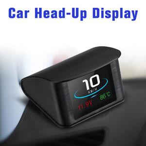 Car OBD2 HD Head Up Display Digital Speedometer Voltage Fuel Consumption Alarm