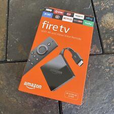 Amazon Fire TV w/4K - Alexa - Voice Remote - 3rd Gen *NEW / FREE SHIPPING*