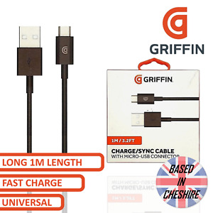 Griffin Micro Usb Data Cable Lead For Android Phone Sync Fast Charger Cable